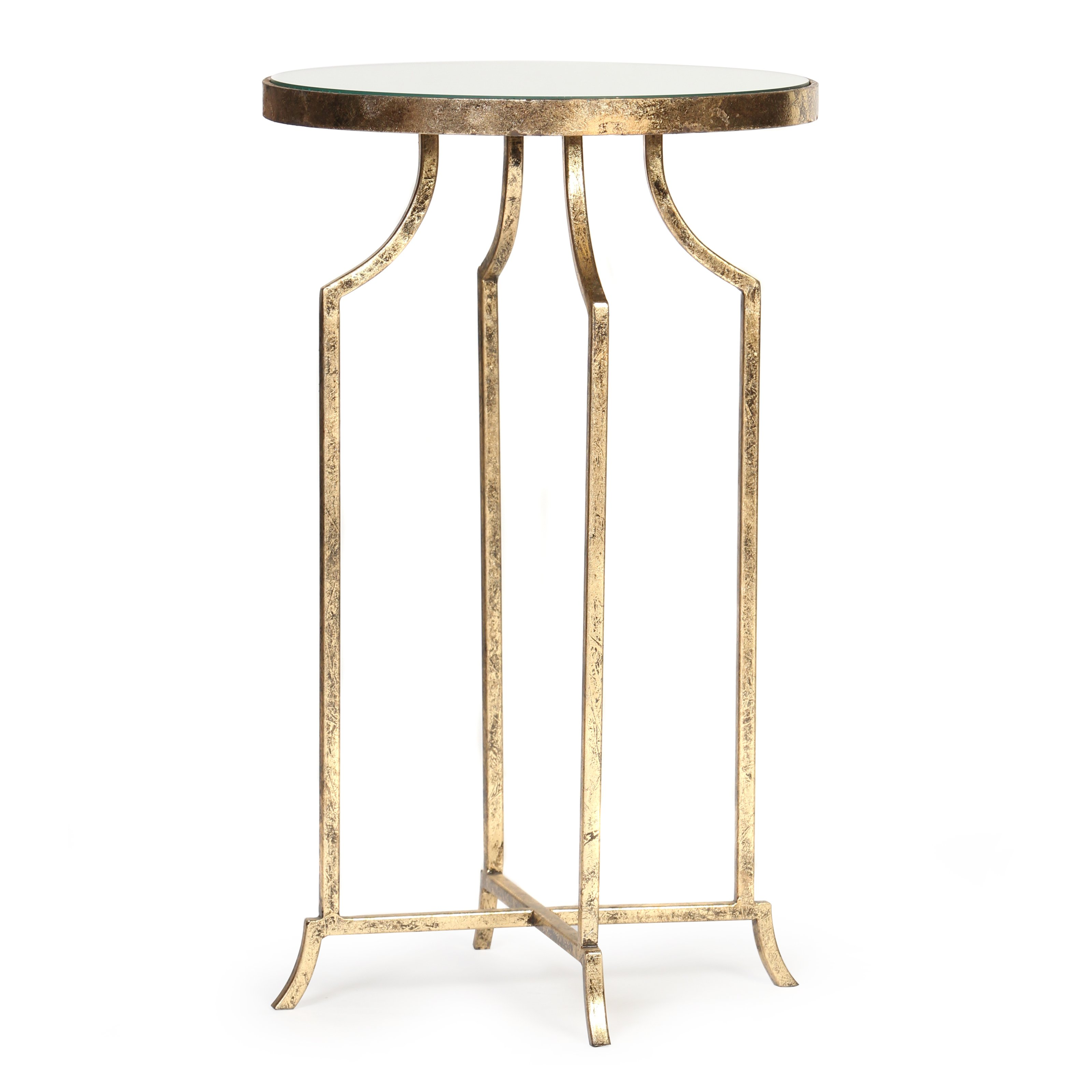 knox and harrison round accent table gold leaf master mirror target white dresser small garden patio decor room essentials office chair kmart dining outdoor cocktail narrow