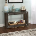 knox industrial collection console table silverwood free accent shipping today swivel coffee cordless bedside lights pub with storage living room ornaments swing sets antique 150x150