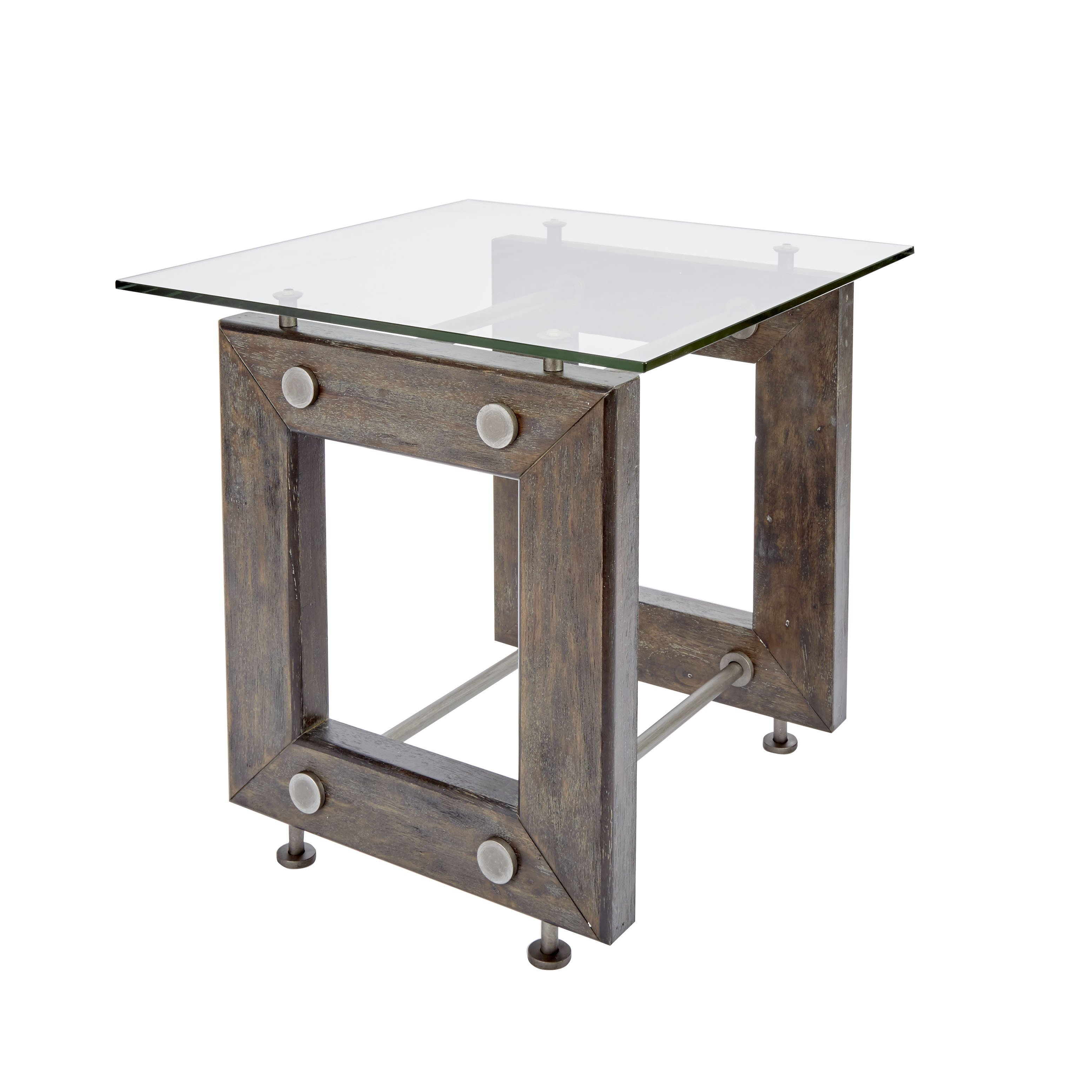 knox industrial collection end table silverwood free accent shipping today swing sets pub with storage fur furniture kmart coffee swivel wood console cabinet slim couch pottery
