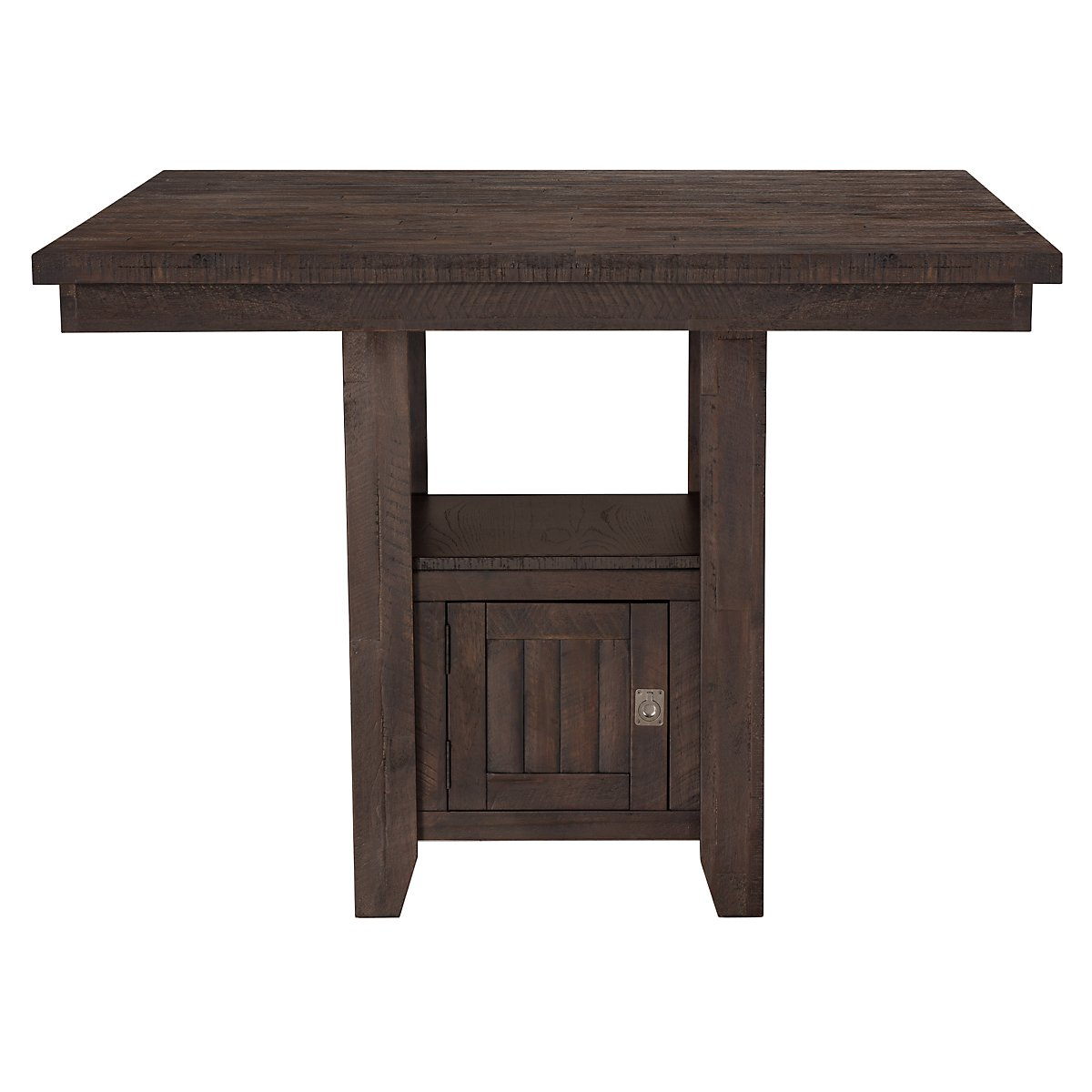 kona grove dark tone high dining table harper round wood and metal accent nesting tables hardwood door threshold sliding barn closet doors nautical ornaments rustic coffee for