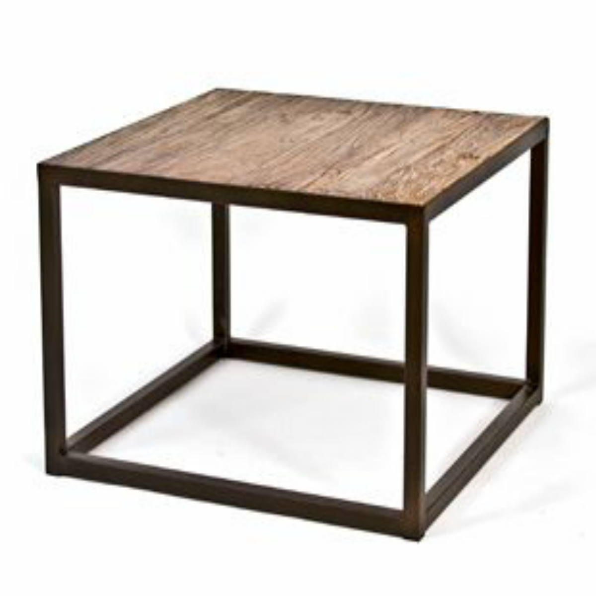 kona rectangular metal and elm side table sku accent corner console wedge shaped small bedside with drawers target drawer patio pagoda garden furniture rattan door chest
