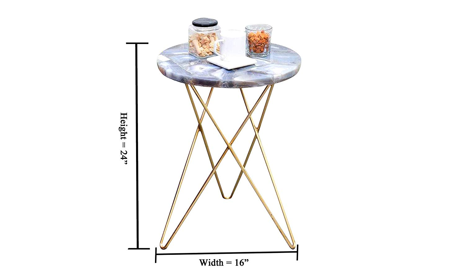 kross agate end table kitchen dining glass accent basic coffee lamp with usb port victorian side top white round linens jacket hoodie plexiglass desk combo square clear nest