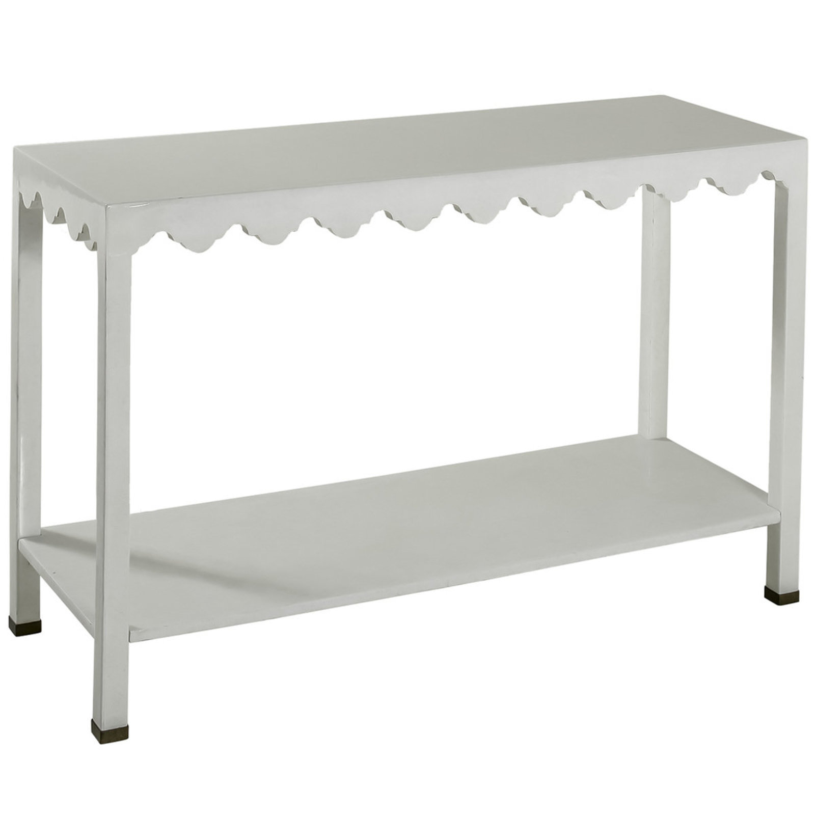 lacquered seagrass console table shades light white lacquer accent lamps living room pottery barn with usb ports and lamp wilcox furniture blue outdoor side glass cabinet knobs