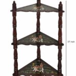 lalhaveli wooden tier corner accent table small tables for spaces inch kitchen dining bar furniture teal blue white resin wicker coffee dark gray end foyer storage wall set lamps 150x150