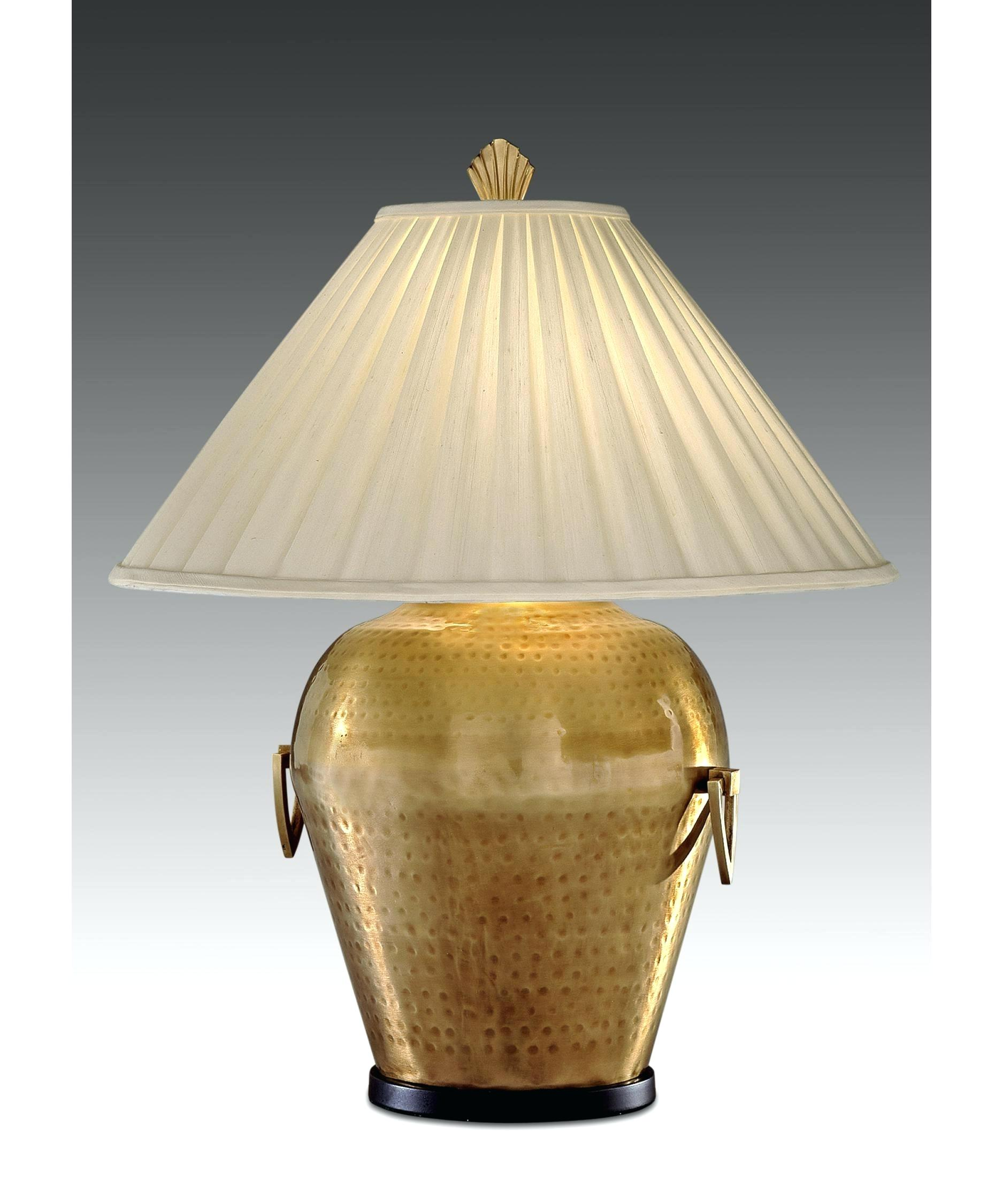 lamp antique brass table lamps swan shade with flowers lighting rustic small accent for attractive interior decoration your glass electric vintage reading bedside lights way cut