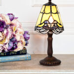 lamp design mini accent table lamps with awesome pertaining best tiffany styles bamboo beach themed wall decor adjustable height side house designs tripod ethan allen occasional 150x150