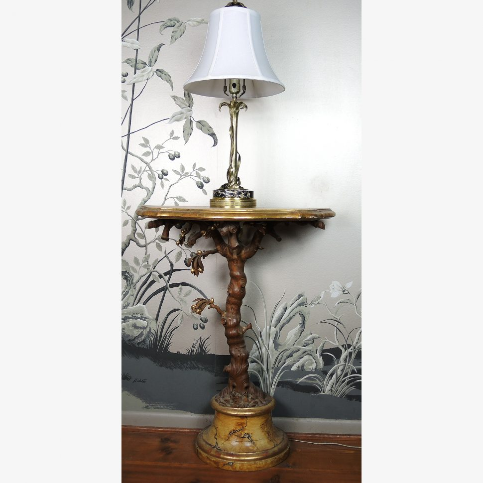 lamp tree branch accent table and brass leaf ebth rustic decor lamps shade cabin for ceramic glass lodge style galvanized driftwood bedside coastal console small tiffany wood high