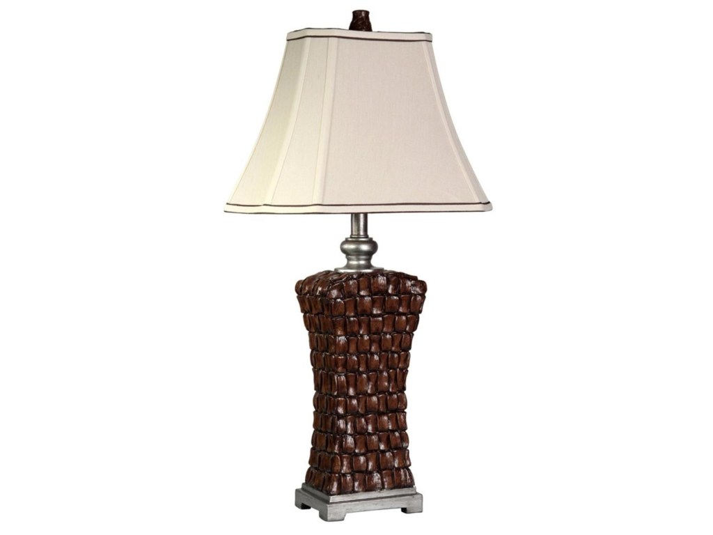 lamps woven silver accents lamp ruby gordon home table products stylecraft color style craft accent outdoor dining sets clearance patio furniture long narrow end inexpensive round