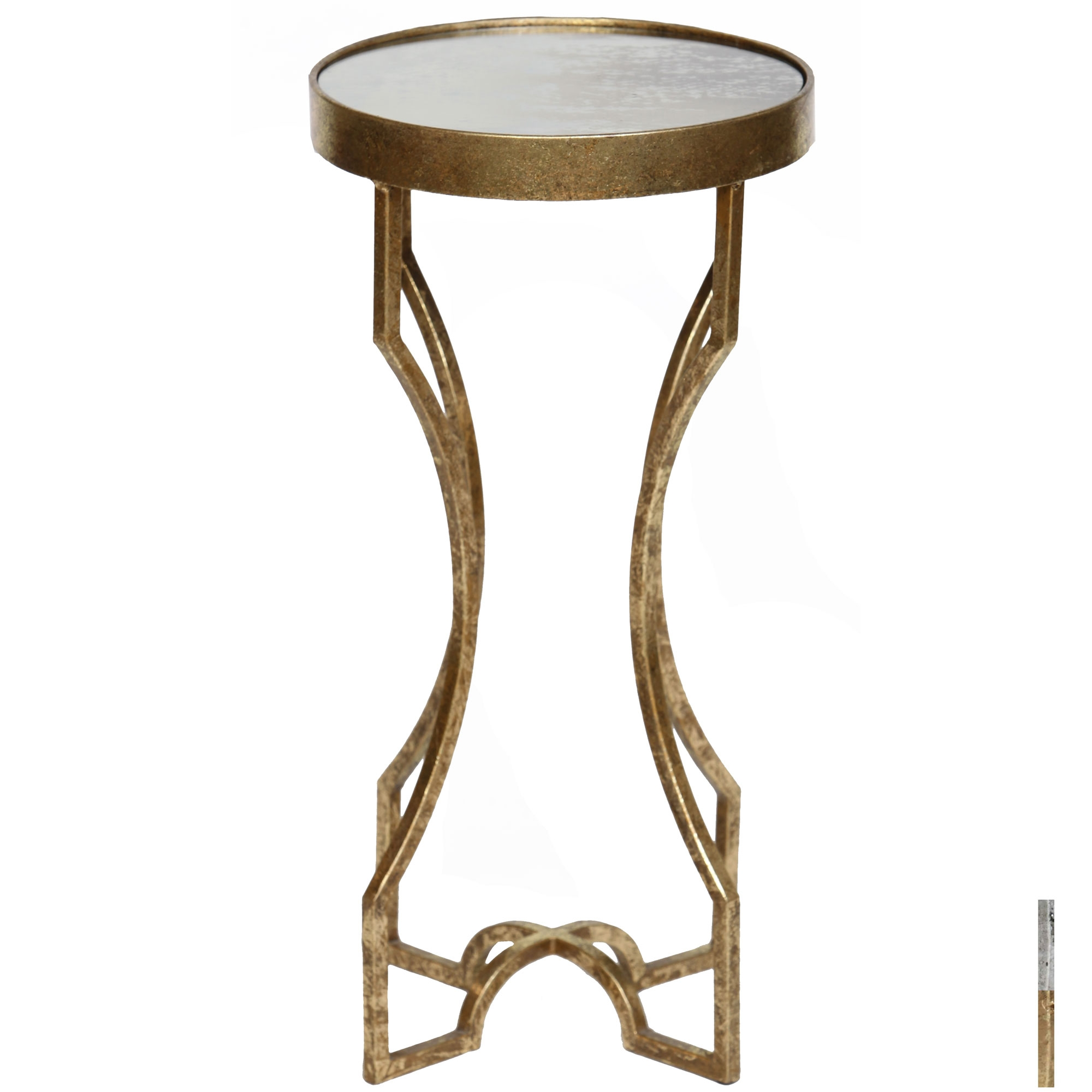 langford accent table timeless wrought iron twi silver leaf larger hayden furniture blue quilted runner carpet and tile separator brown wicker patio side gold metal console