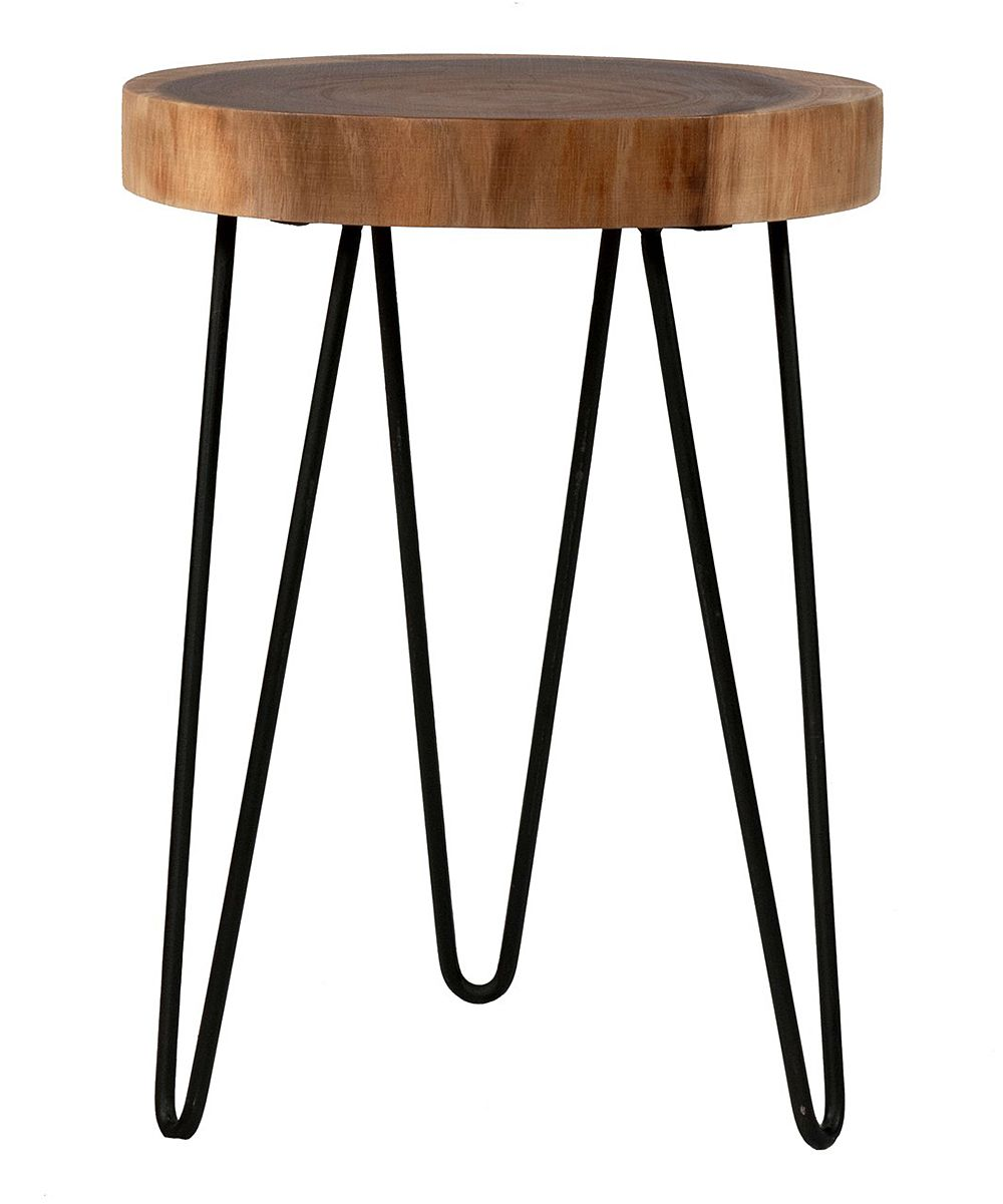 laredo brown round accent table products mid century wood legs console lamps modern coffee foldable trestle plus lynnwood nesting set home hardware furniture very narrow iron and
