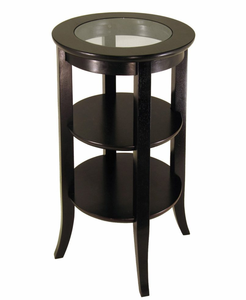 large black wood pedestal accent diy end tables antique distressed table oak small round tall unfinished appealing bedside full size modern furniture miami espresso entryway