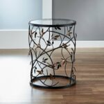 large leaves metal barrel end table free shipping today accent between two chairs chest for bedroom wooden floor lamp industrial drop leaf with folding unfinished wood dresser 150x150