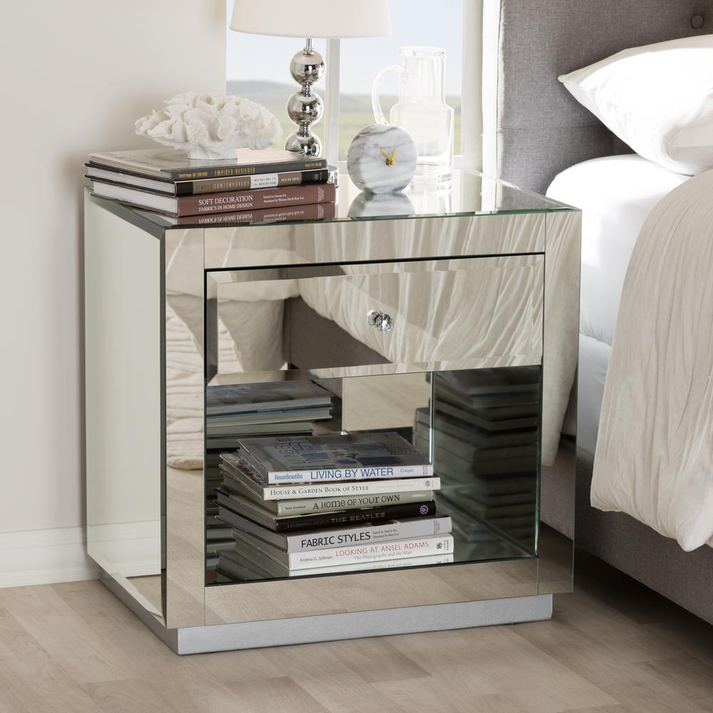 large mirrored nightstands mirror ideas design nice threshold nightstand small iron side table black wall mounted pier counter stools ikea round red bedside mid century modern