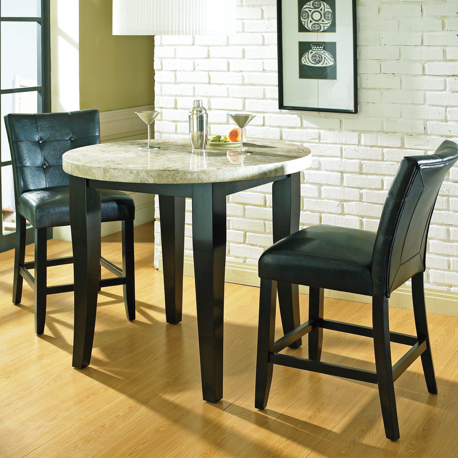 latitude run chloe counter height piece pub table set reviews tall accent long end furniture chests and cabinets marble coffee black legs white lacquer avani mango wood drum