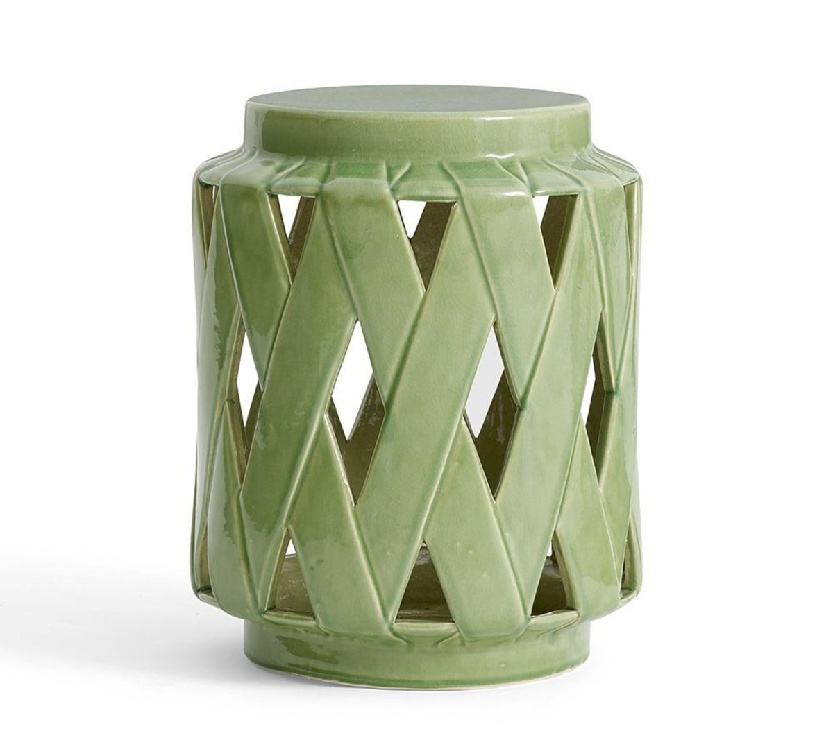 lattice ceramic accent table pottery barn media mosaic indoor side with basket drawers blue metal bedside glass end tables ikea outdoor cover grey kitchen chairs asian lamp shade