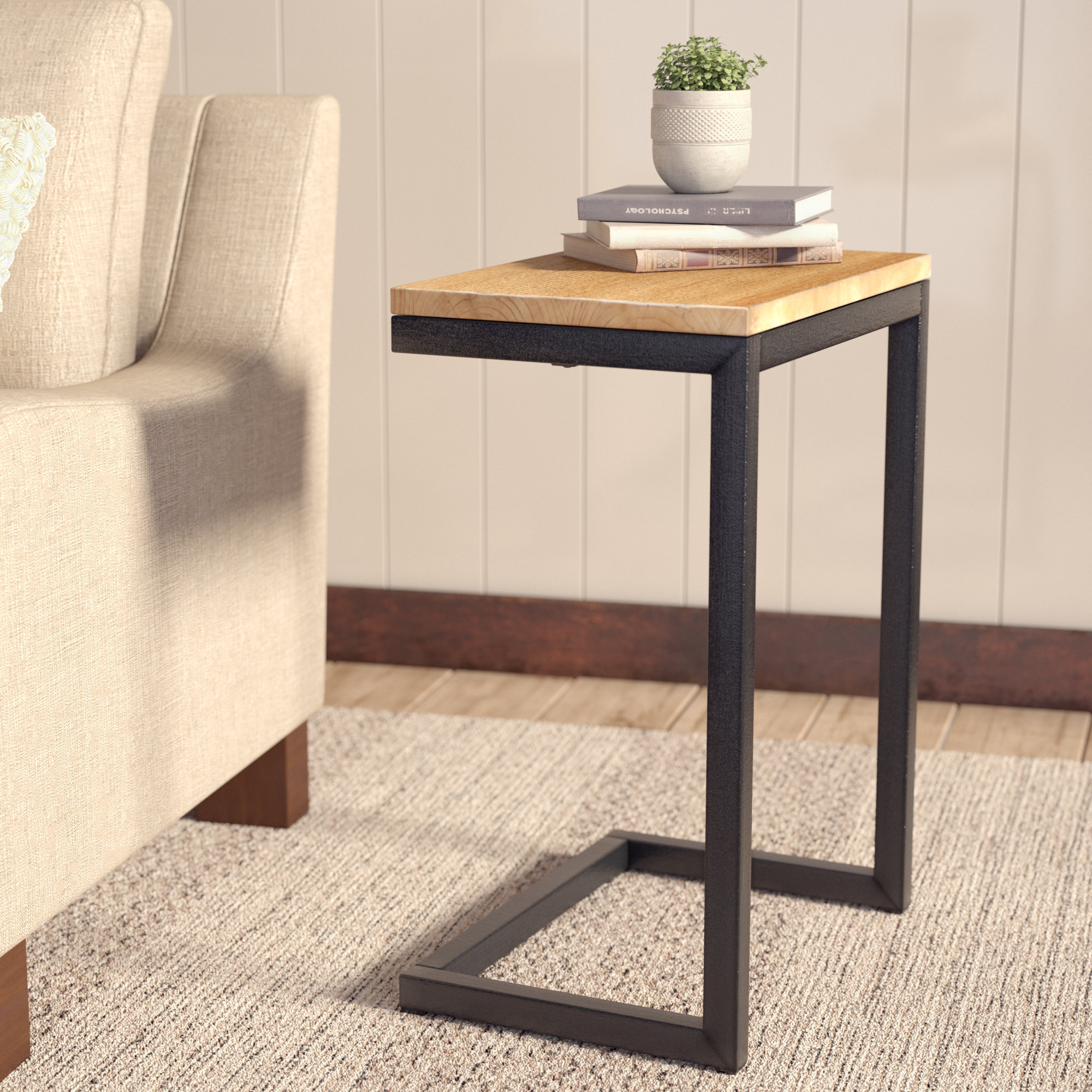 laurel foundry modern farmhouse nayara antique end table reviews blue accent dining room height round patio tablecloths umbrella white hairpin legs extendable uma side elm metal