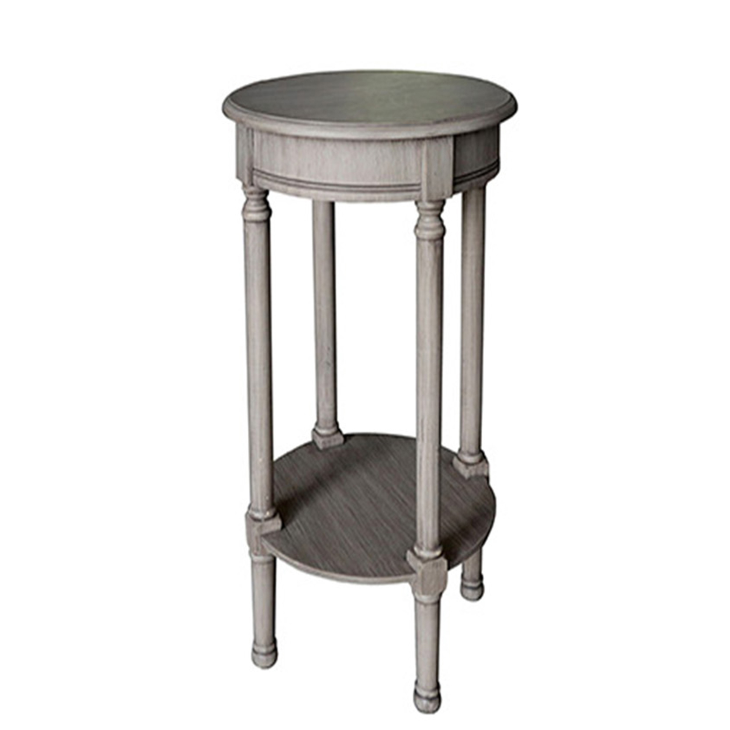 Grey Round Accent Table Grottepastenaecollepardo
