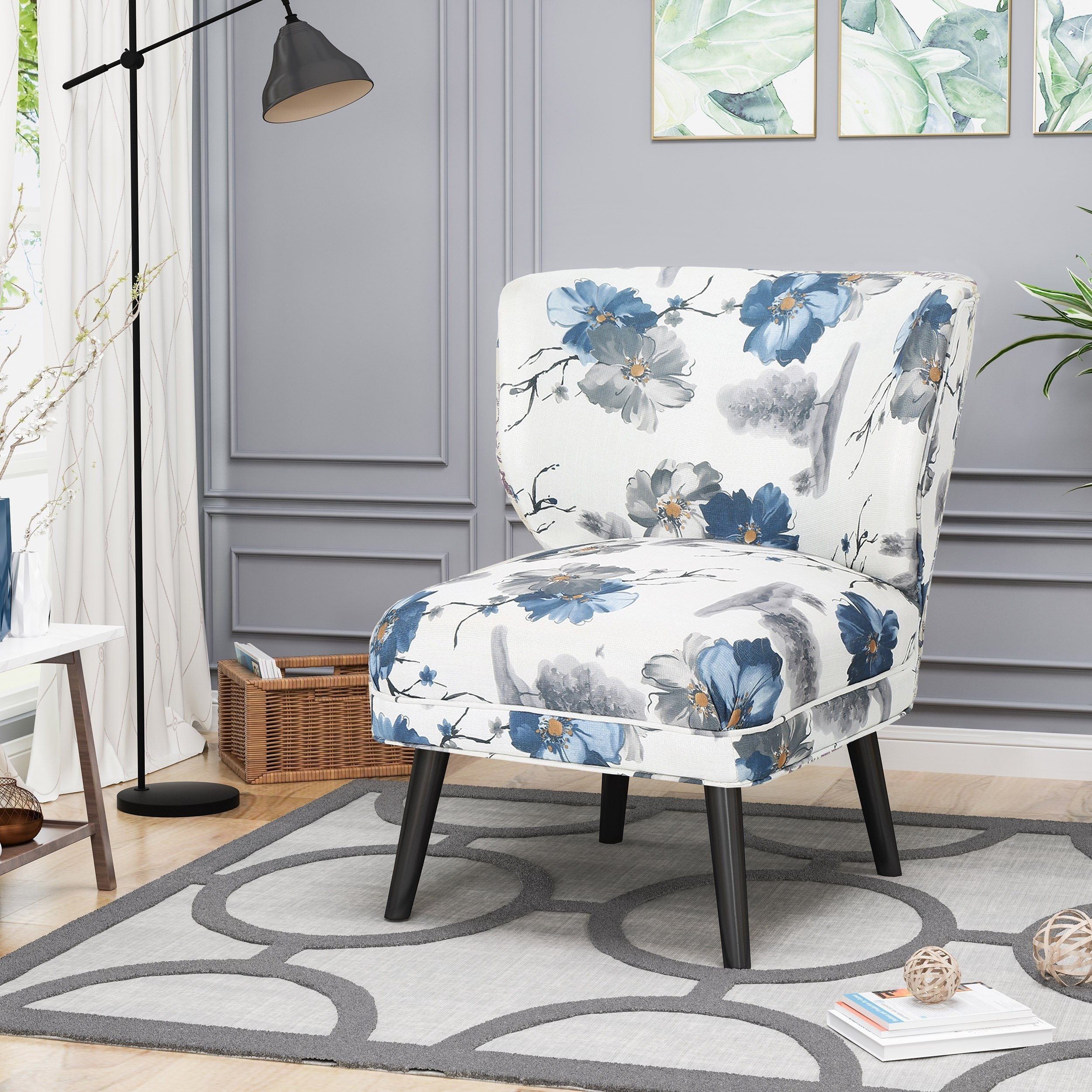 laurier modern farmhouse accent chair chirstopher knight home table free shipping today sauder dresser half moon with storage nautical dining room chandelier wood coffee set
