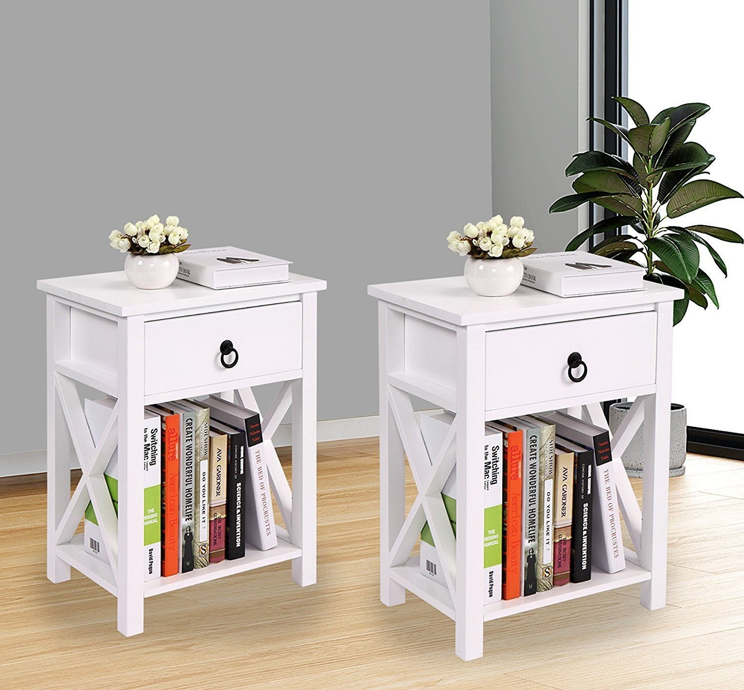 lazymoon set mdf nightstand table design kids winsome ava accent with drawer black finish room end side home storage white kitchen dining clearance couches night stands ikea