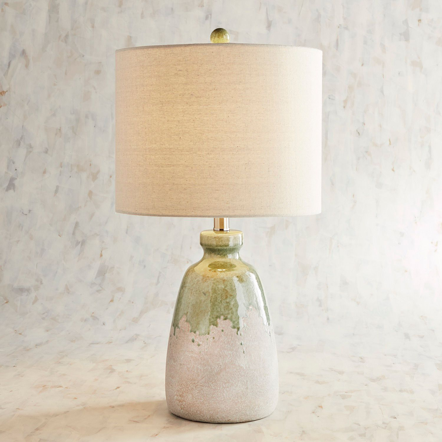 lea mint ceramic table lamp pier imports one accent lamps cordless for living room pottery barn dale tiffany dragonfly wedding reception decorations modern dining sets pool