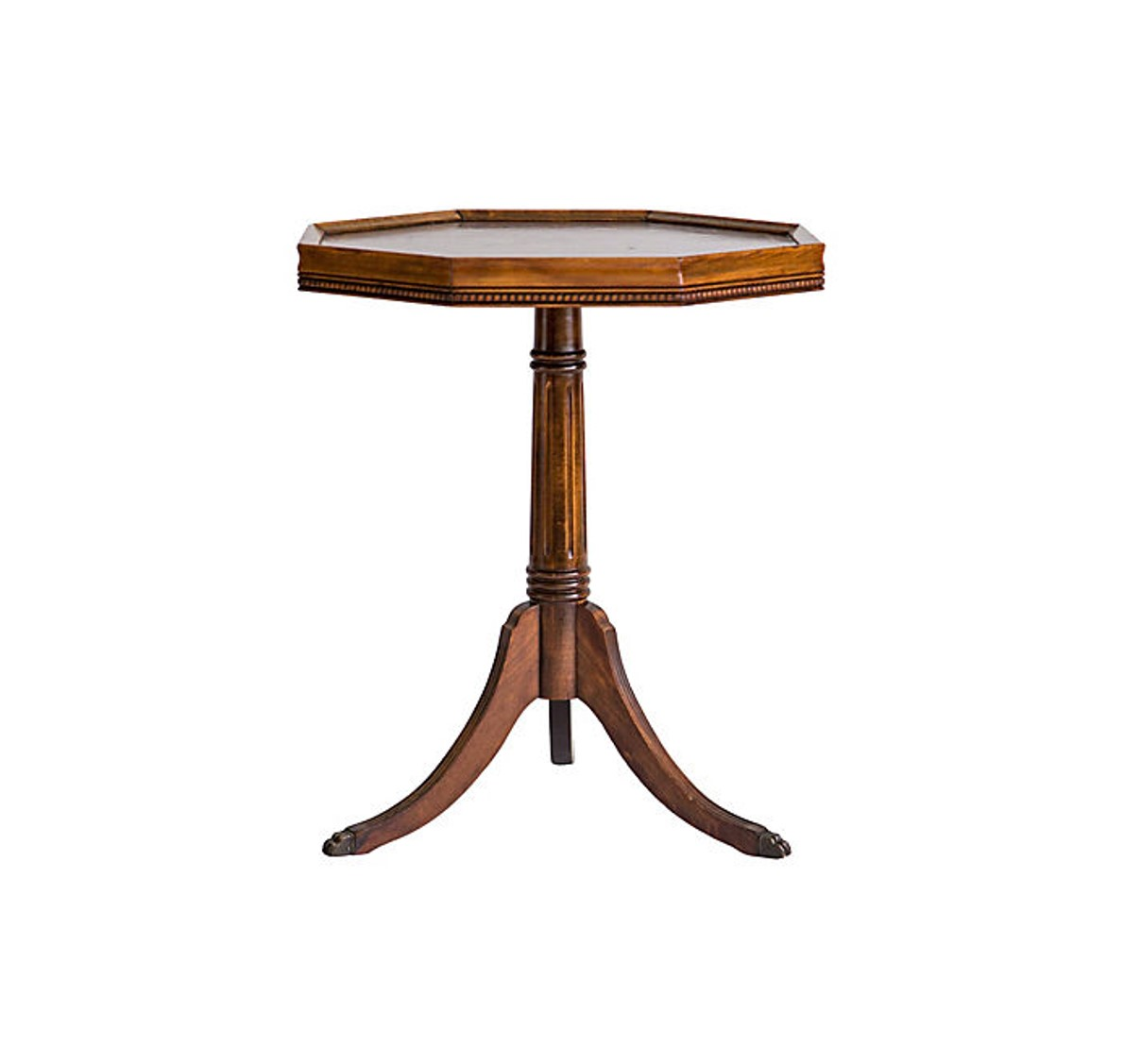 leather top pedestal accent table janney collection wood silver metal and glass coffee pier one imports rugs counter dining bedside lamps cymbal stand decorative inch round covers