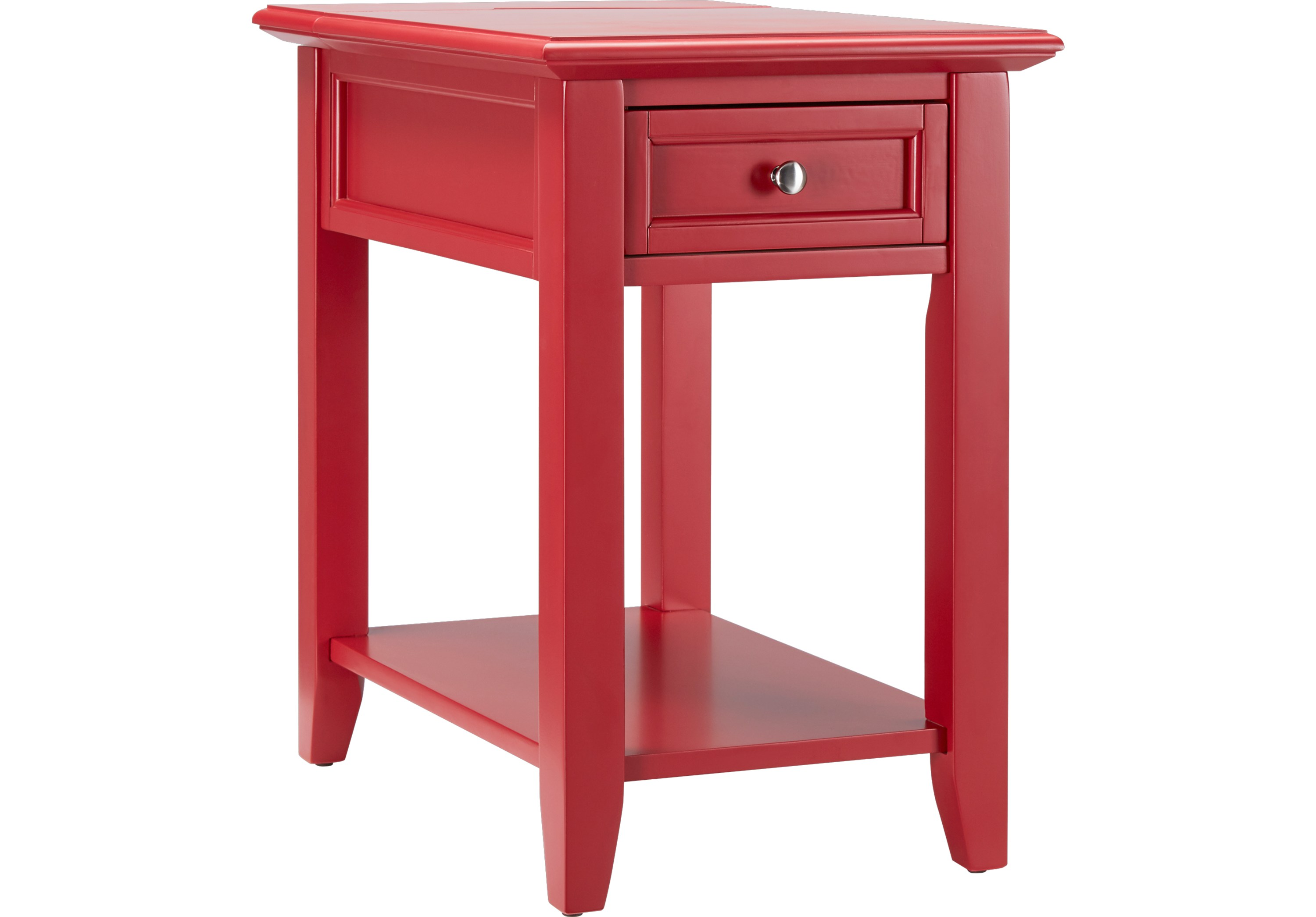 leda red accent table tables colors wood roll over zoom small glass cocktail acrylic drink coffee tray ikea metal legs bar stool drop leaf dining set unique nightstands desk