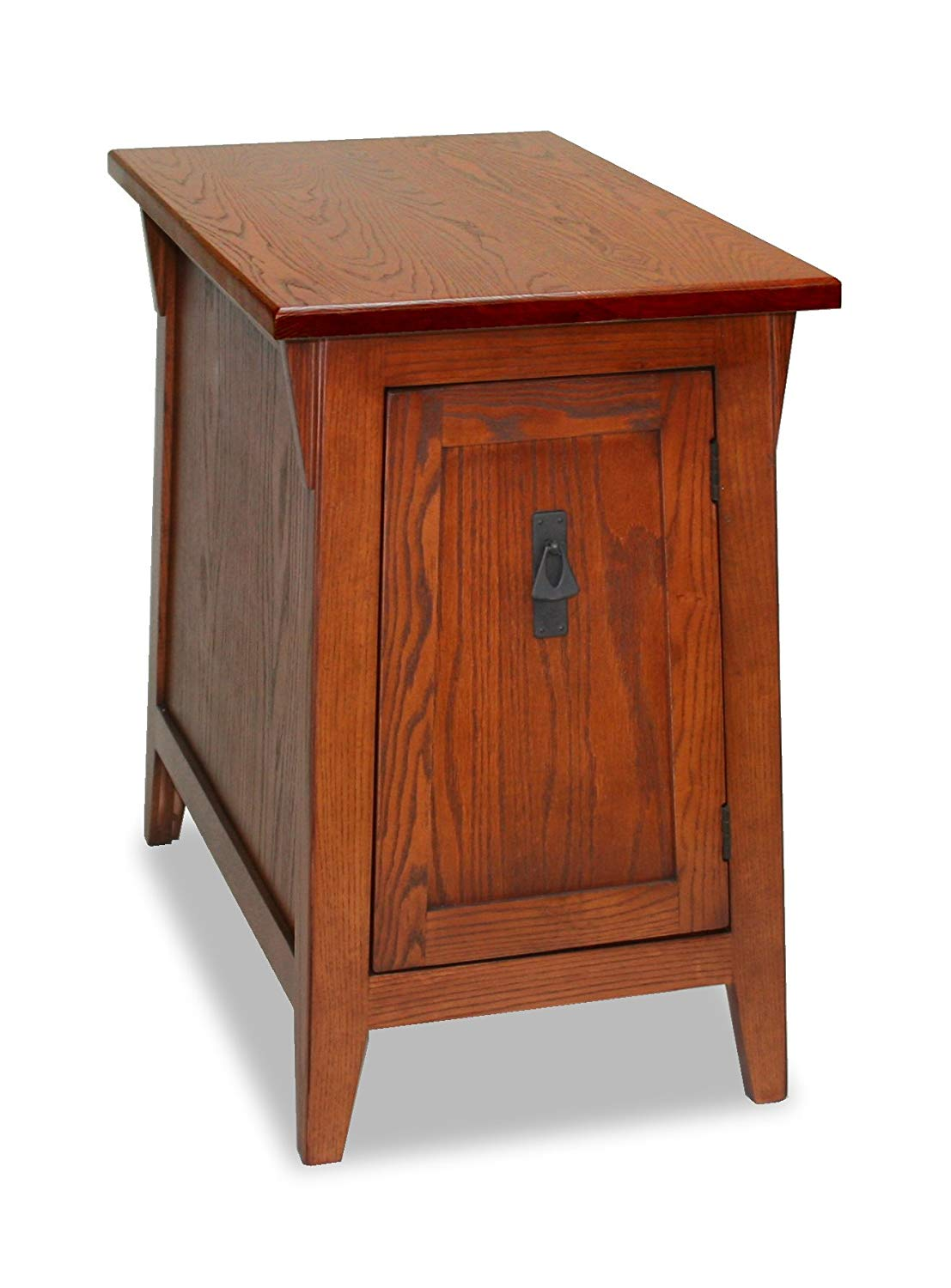 leick favorite finds mission cabinet end table russet better homes and gardens accent rustic gray kitchen dining garden furniture clearance coffee decor ideas pedestal bedside