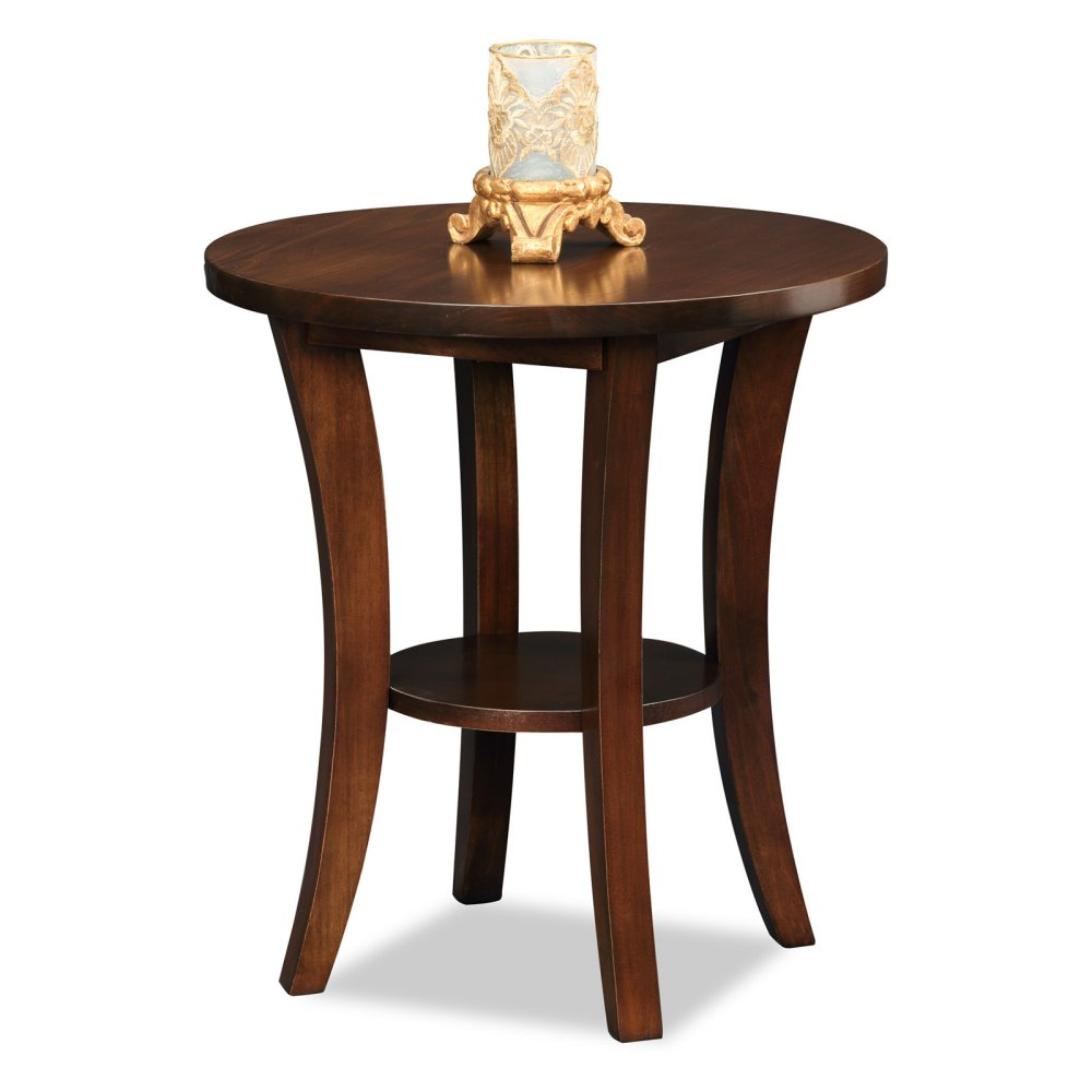 leick home boa round side table master corner accent loading dining linens skinny wine rack drop leaf set wood and glass coffee large patio furniture ottawa goods chairs mirrored
