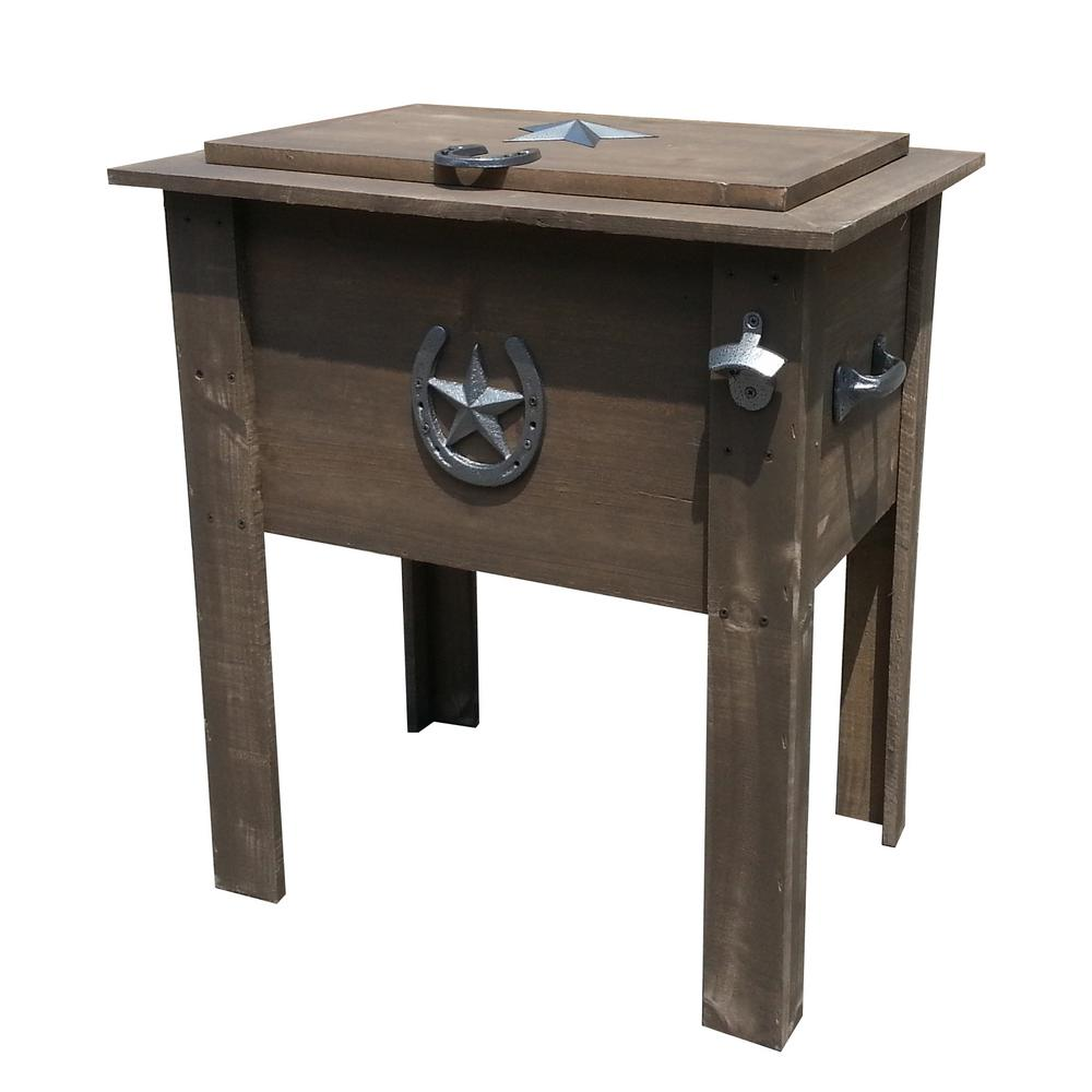 leigh country cooler the browns tans chest coolers outdoor side table beverage bedside lamps hammered end union jack furniture small square hayden dale tiffany lily lamp west elm