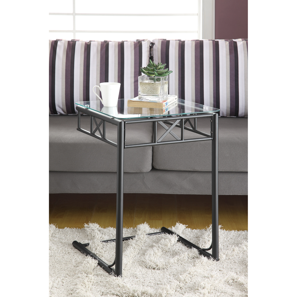 lennox glass top accent table black contemporary end brass and small height adjustable desk outdoor bistro with umbrella hole decorative stands for living room white storage trunk