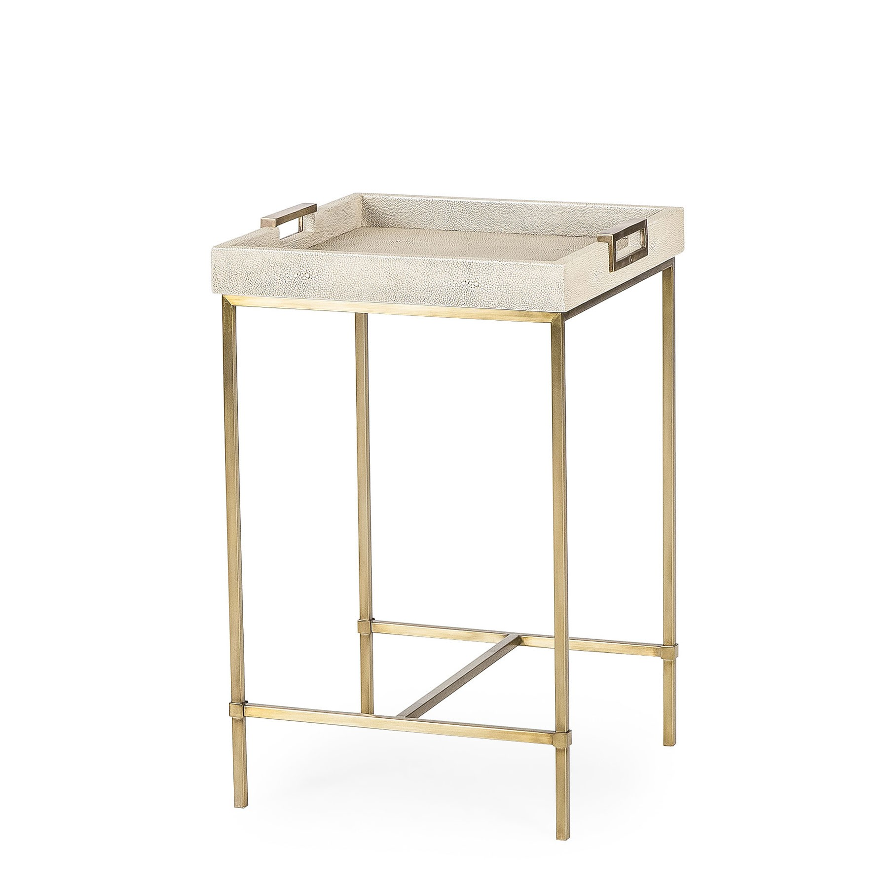 lexi tray accent table shagreen maison resource decor with white sofa side windham cabinet target farmhouse bench mercury lamp southern butterfly freedom umbrella basket drawers