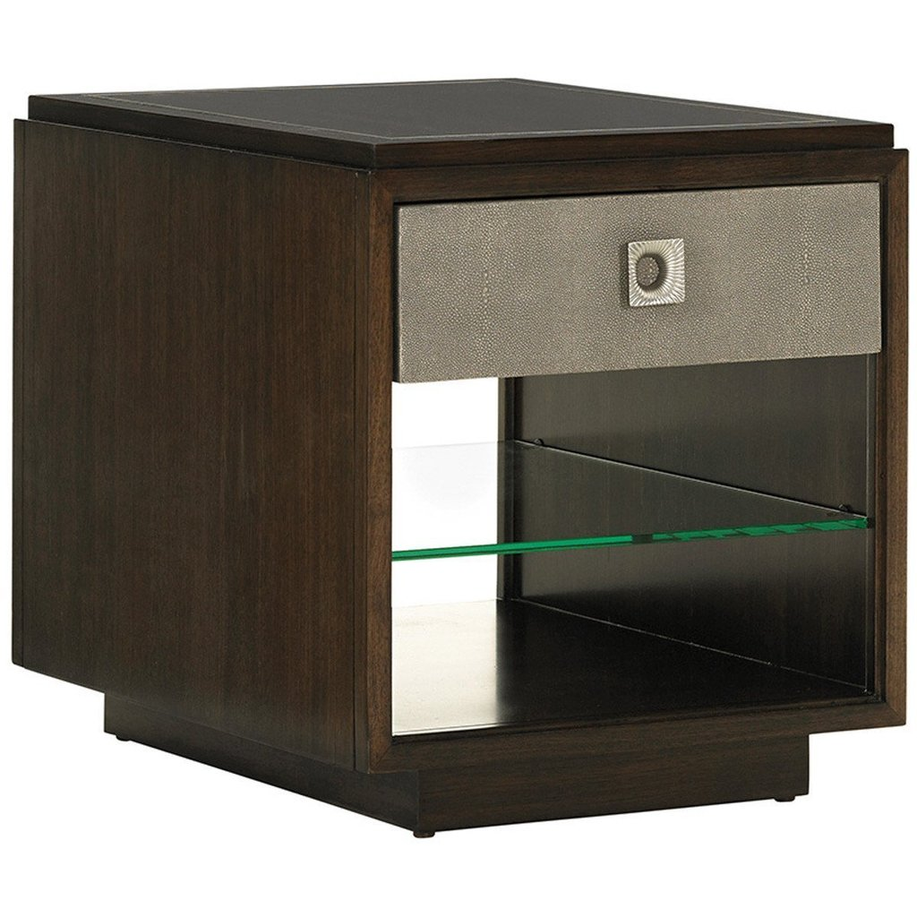 lexington chenault storage end table tables accent lex with drawer and shelf macarthur park next oak floor edge trim ikea kitchen boxes black metal lamp olive green side clearance