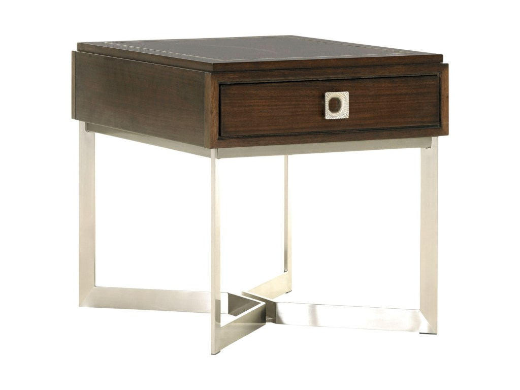 lexington macarthur park culver one drawer end table products color wood accent threshold parkculver industrial natural coffee half oval rubber carpet edging trim chinoiserie lamp