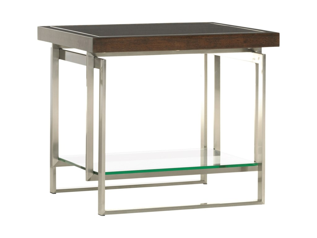 lexington macarthur park granville end table with floating glass products color accent meaning parkgranville wall decor coffee plexiglass small wicker side purple tiffany lamp