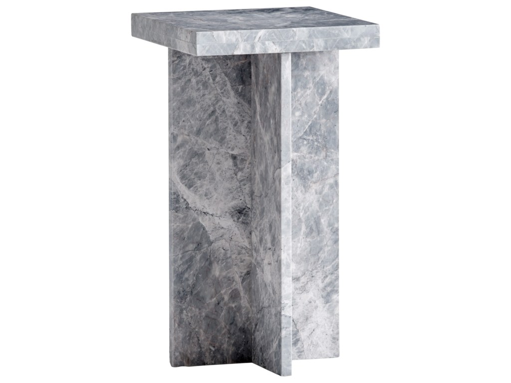lexington santana loft marble accent table hudson products color white pedestal santanaloft stone whole tablecloths for weddings rustic dining centerpieces gold and wood side