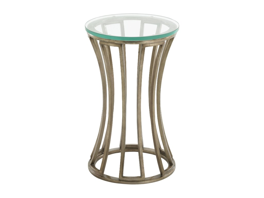 lexington tower place contemporary stratford round glass products home brands color accent table placestratford inch nightstand pool furniture bunnings end covers square white