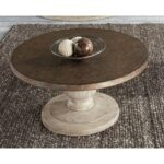 liberty furniture alamosa relaxed vintage round cocktail table with products color hammered metal accent alamosaalamosa rugs ikea white garden coffee rustic wood and end tables 150x150