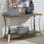 liberty furniture contemporary sofa table with reclaimed wood products color pembrook threshold metal accent top outdoor bench seats bunnings glass cube side extra tall console 150x150