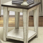 liberty furniture lancaster rustic end table with light distressing products color occasional small accent decorative accessories clear lucite tablecloth for rectangle round patio 150x150