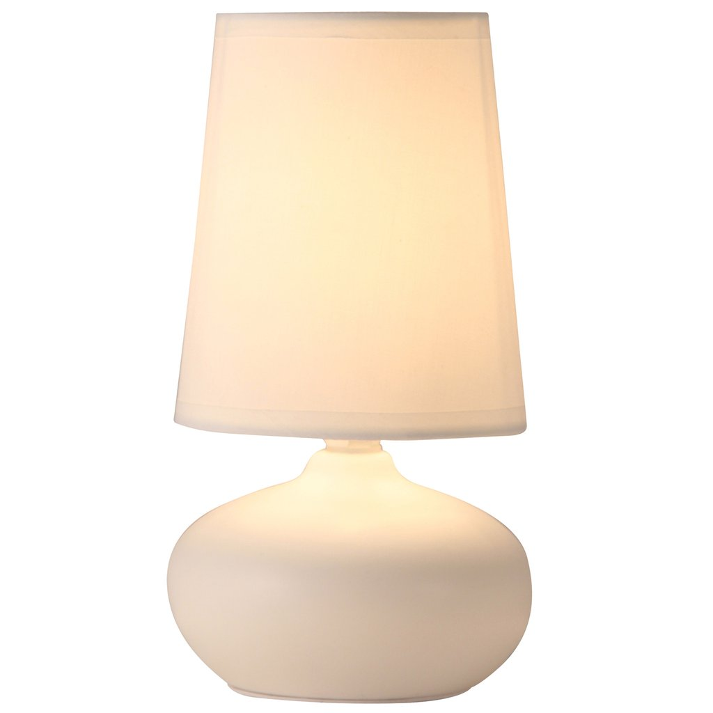 light accents table lamp oval ceramic with fabic shade edited accent lamps off white finish lightaccents leather living room chair pottery barn side short narrow coffee sofa
