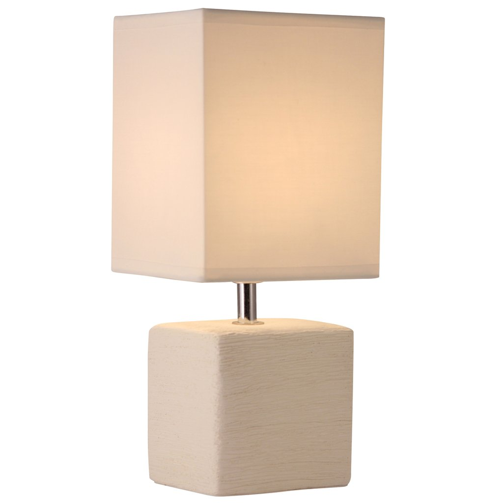 light accents table lamp side with square fabric shade edited accent off white finish lightaccents linen company patio furniture dining sets wood nightstand long narrow end half