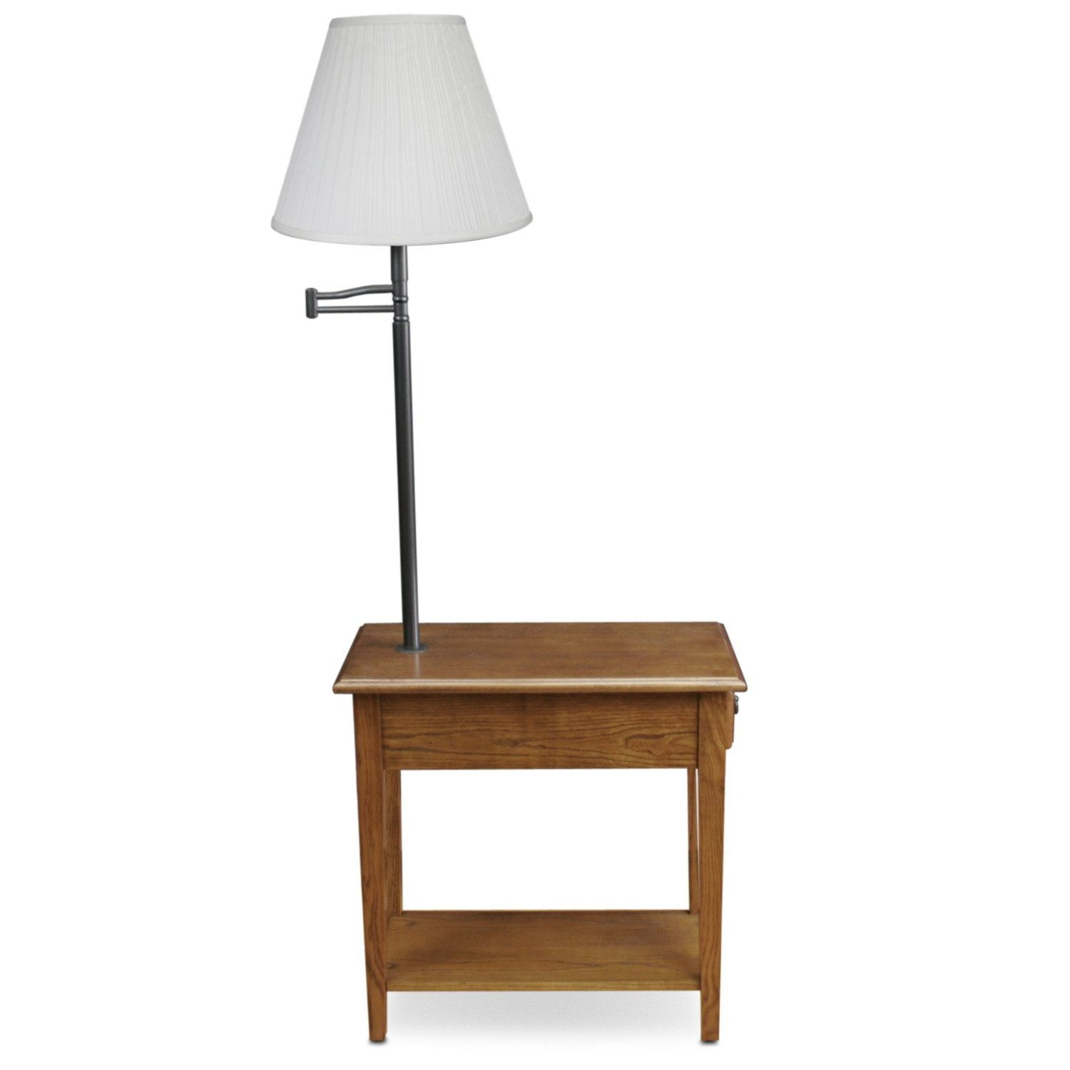 light colored end tables table lamp combo floor combination with and living room lamps built wood oak accent full size marble console oval coffee storage shabby chic dining skinny