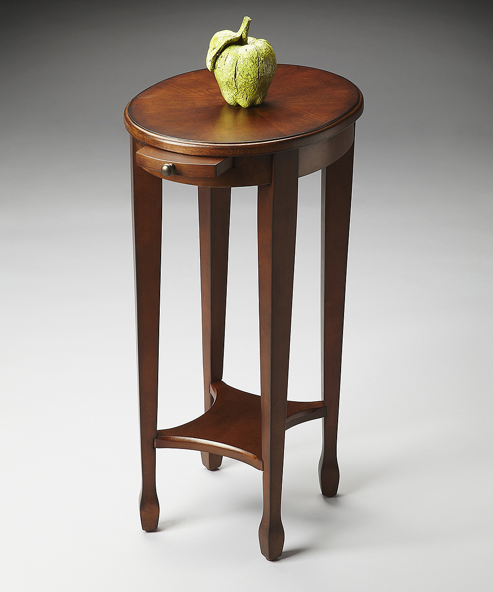 light oval wood accent table zulily main medium brown alternate interior door threshold black square coffee uttermost samuelle end ashley signature bamboo bedroom furniture west