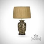 lighting rustic clear glass small table lamp design with inner gorgeous fabric drum artistic ceramic base lamps shades accent floating copper fitting target metal coffee 150x150