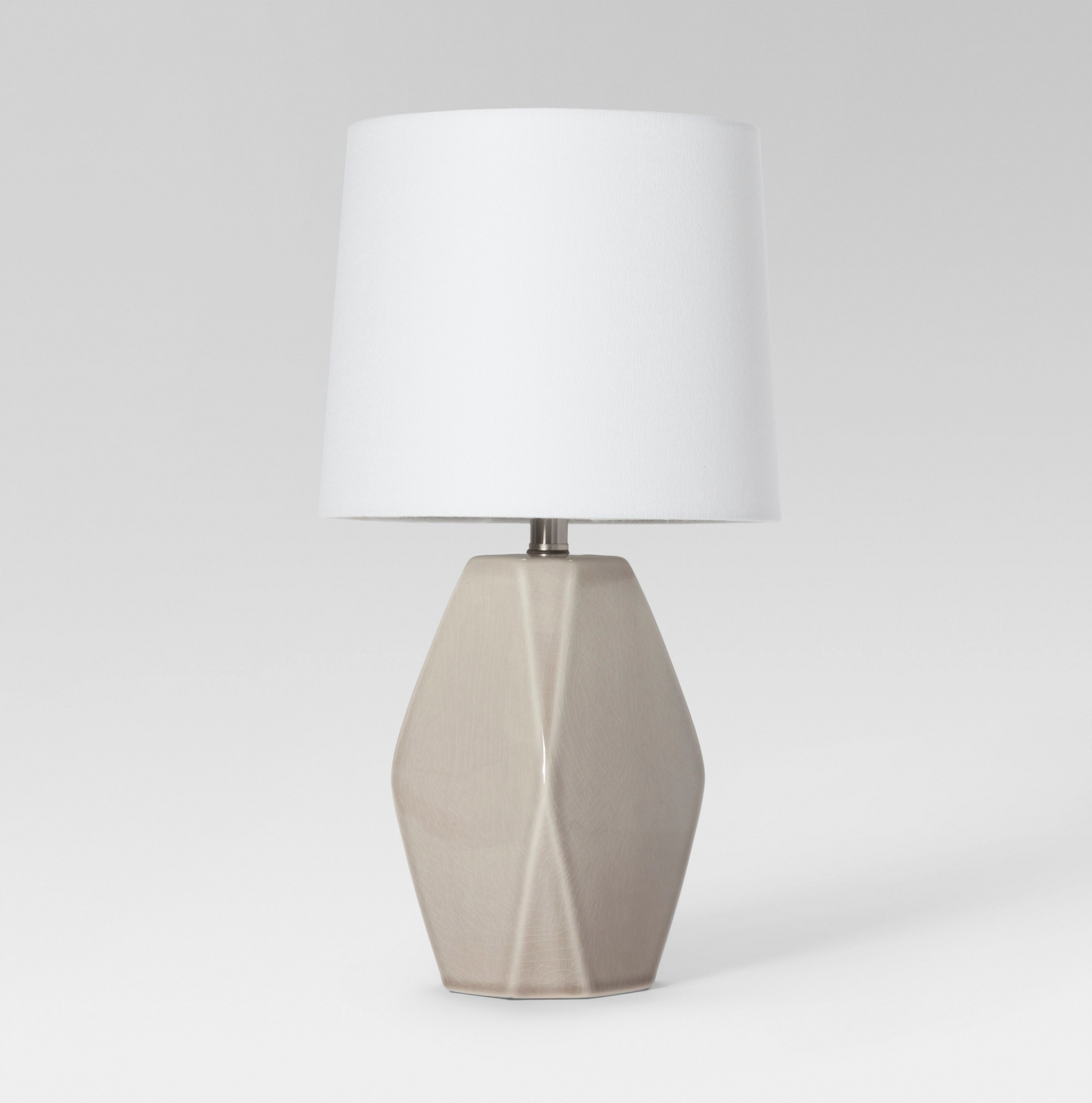 lighting upright table lamp with lovely modern ceramic facet accent pertaining glass lamps fabulous your home idea white gloss side safavieh coffee homebase outdoor furniture tall