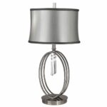 lighting vivid white lampshade contemporary table lamps with black cool silver double circle handle crystal hanging floor lamp attached yellow accent glass dining room sets retro 150x150