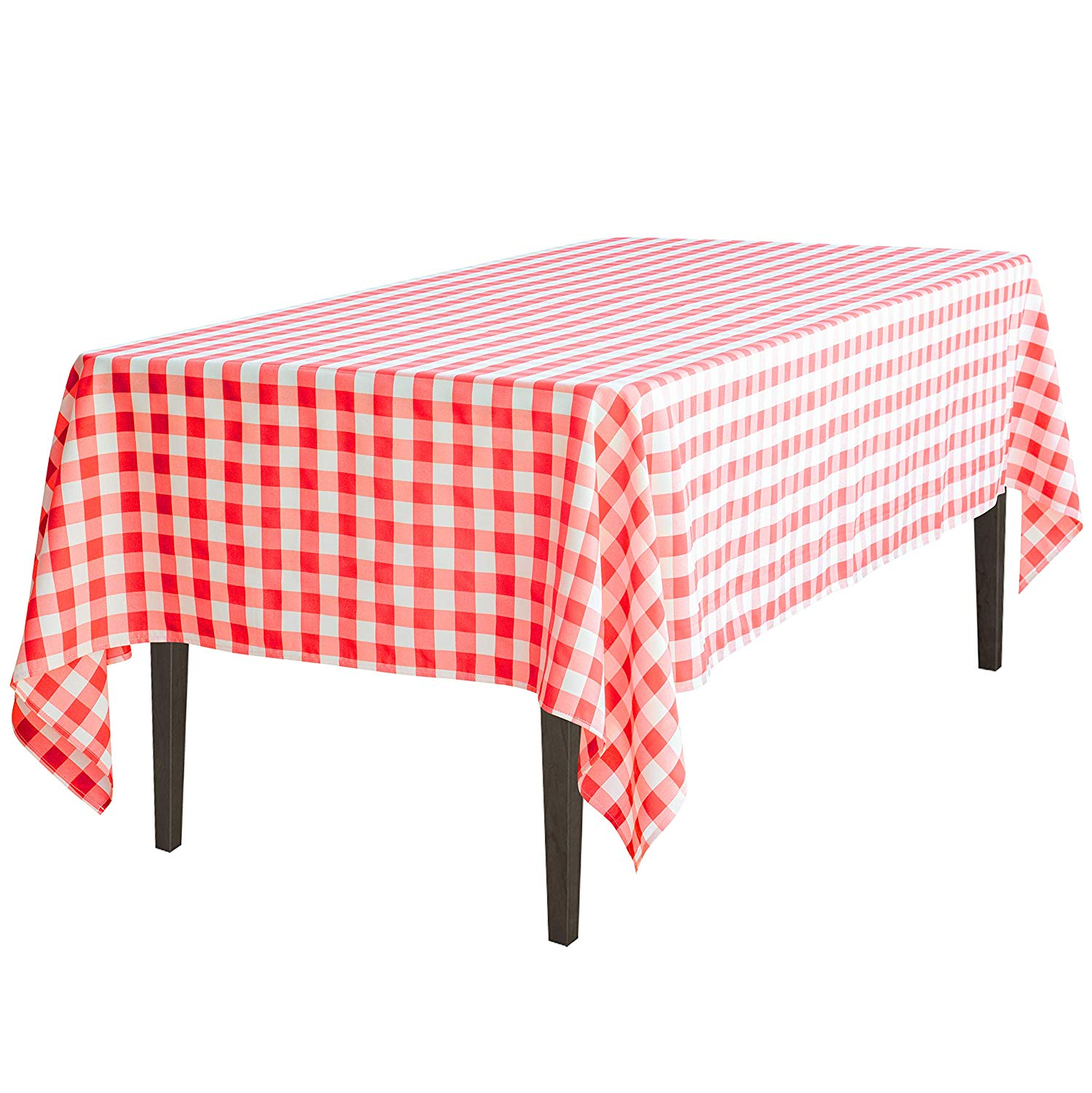 linentablecloth inch rectangular tablecloth red for round accent table white checker home kitchen fall runner patterns modern glass end tables target vases folding lawn chairs
