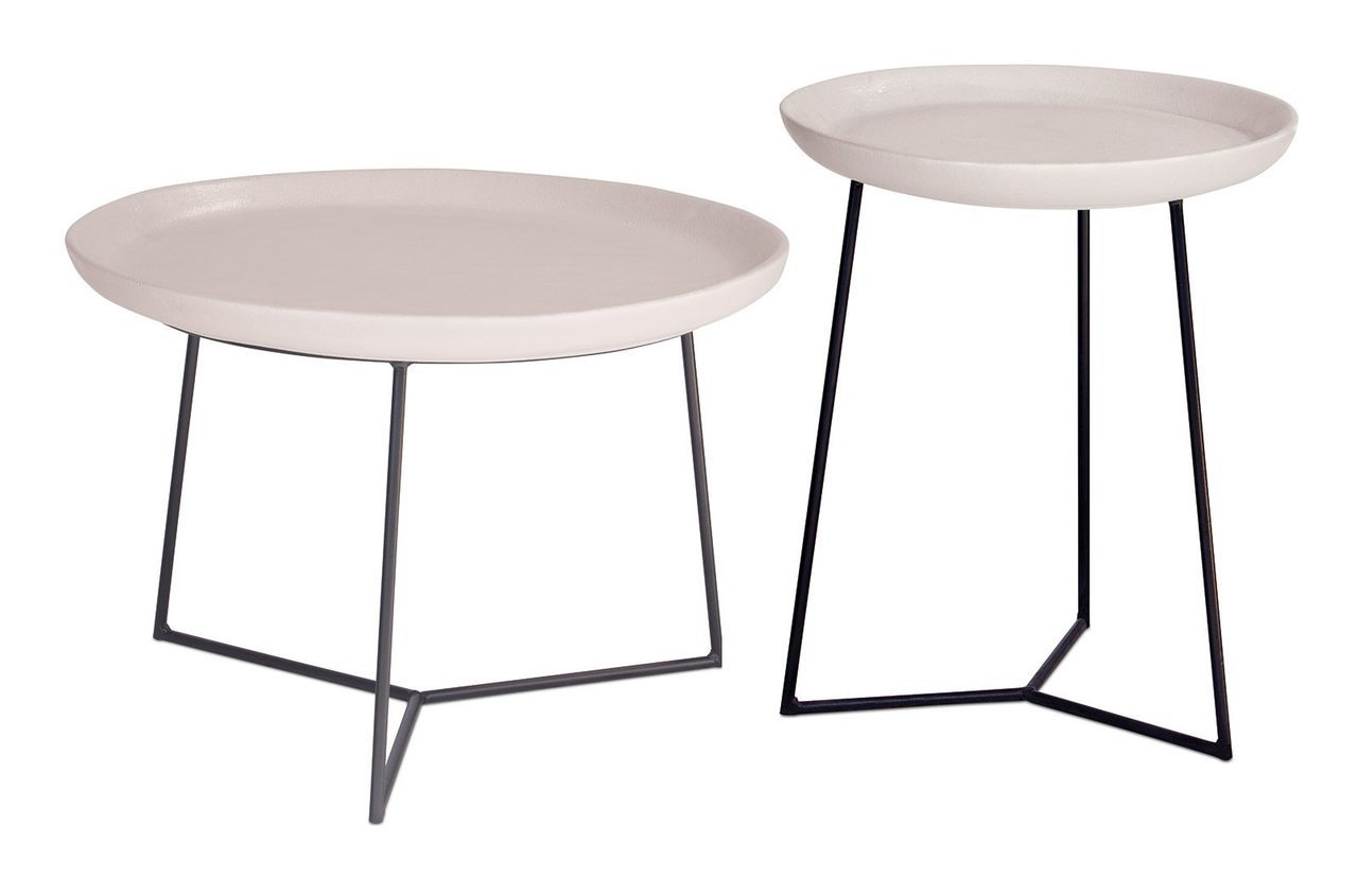 link accent table set boxhill cer white ceramic matte linen studio furniture end tables tall kitchen bar vitra chair replica west elm industrial desk bedside with drawers black