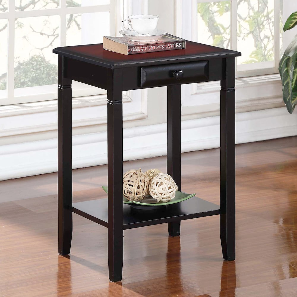 linon camden accent table winsome timmy black nate berkus marble coffee farmhouse drop leaf cement pedestal side ikea decorative battery powered lamps nautical themed ceiling