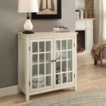 linon galway cabinet white glass doors accent table navy end christmas tablecloth and runner rattan nightstand tables bar stools nautical track lighting chestnut style lamps 150x150
